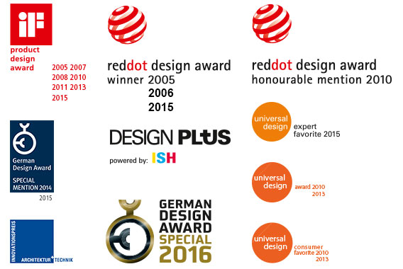 Various design awards