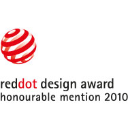 red dot design award honourable mention 2010