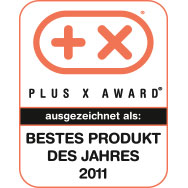 Plus X Award - Best product of year 2011