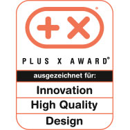 Plus X Award - High Quality - Design - Functionality