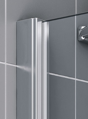 Kermi shower enclosure Raya - Wall profile - Detailed picture