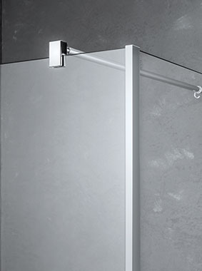 Kermi Walk-In XB WALL wall support - Detailed picture
